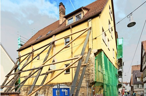 Einstürzende Altbauten