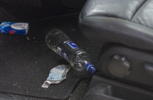 Polizei stoppt sturzbetrunkene Frau
