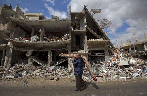 Armee rückt in Palmyra ein