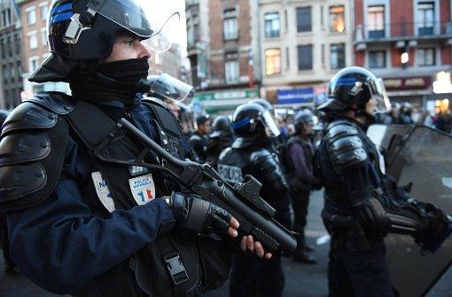 Festnahmen in Lille