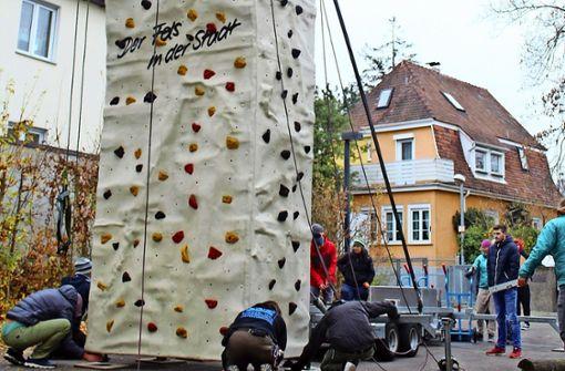 Mobiler Kletterturm fürs Jugendhaus