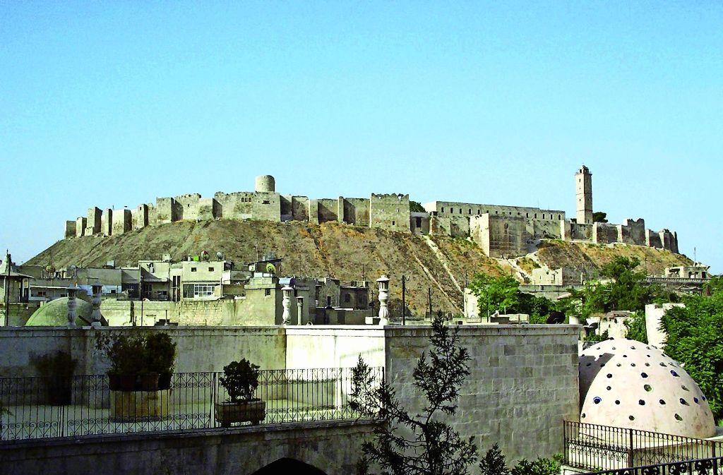 Fotografiert vor dem Beginn des Bürgerkriegs: Zitadelle von Aleppo. Foto: Jörg Esefeld
