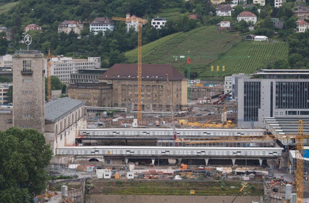 Was kosten die Bauarbeiten für Stuttgart 21 tatsächlich? Foto: dpa