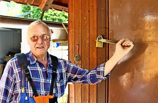 Einbrecher haben Gartenhütten im Visier