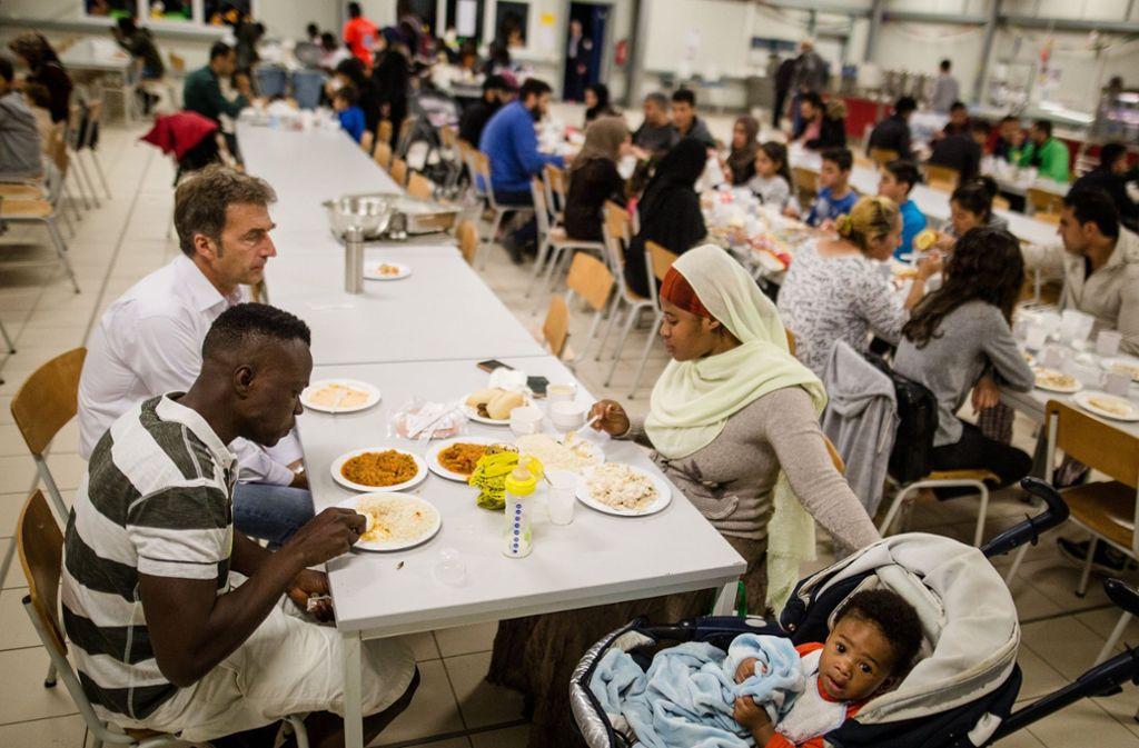 Derzeit beherbergt die Lea in Ellwangen rund 600 Flüchtlinge. (Symbolbild) Foto: dpa
