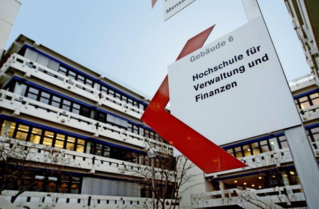 Schauplatz der Affäre: der Hochschul-Campus in Ludwigsburg Foto: dpa
