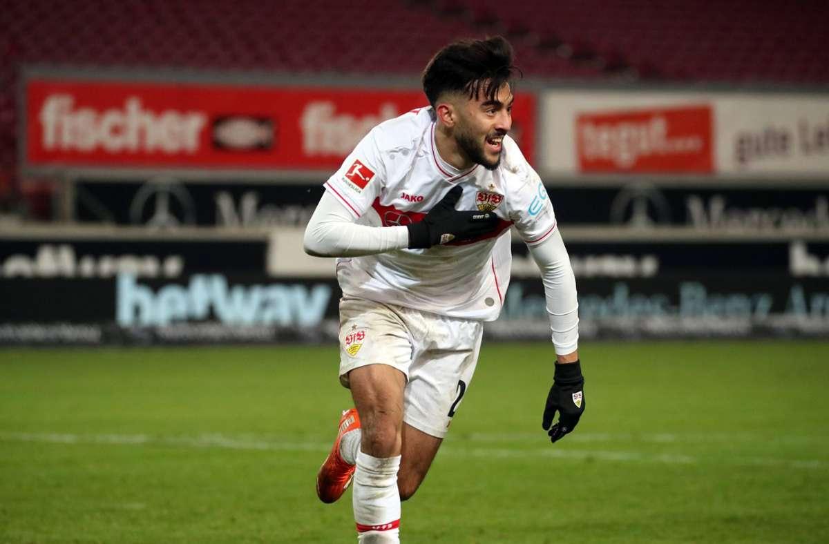 Nicolas Gonzalez spielt vorne in der Spitze. Foto: www.imago-images.de