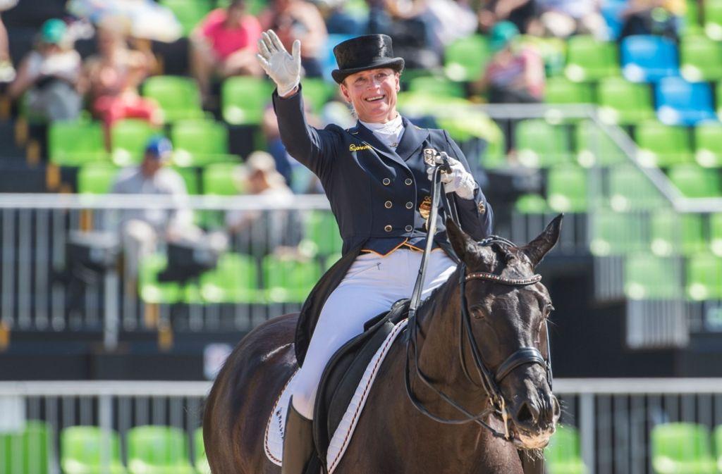 Isabell Werth ist die erfolgreichste Dressurreiterin der Welt. Foto: AFP