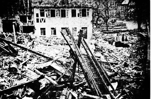 Vor 70 Jahren fielen Bomben auf die Stadt