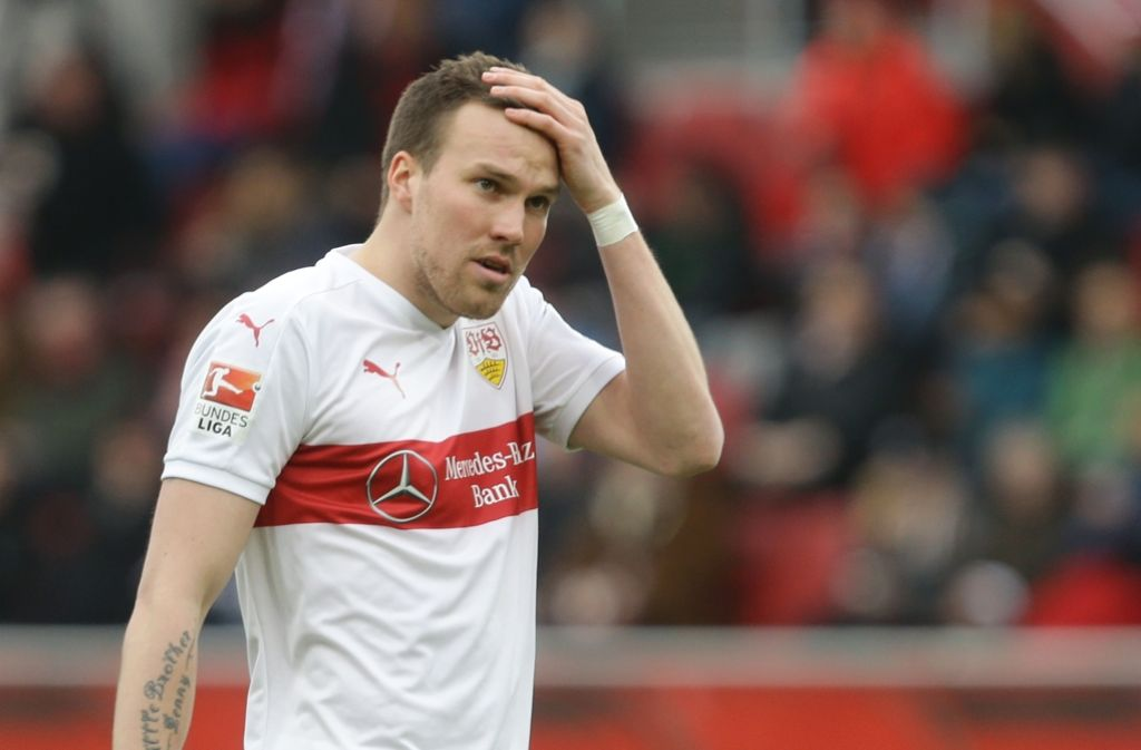 VfB-Profi Kevin Großkreutz nimmt in den kommenden Tagen nicht am Mannschaftstraining des VfB Stuttgart teil. Foto: Pressefoto Baumann