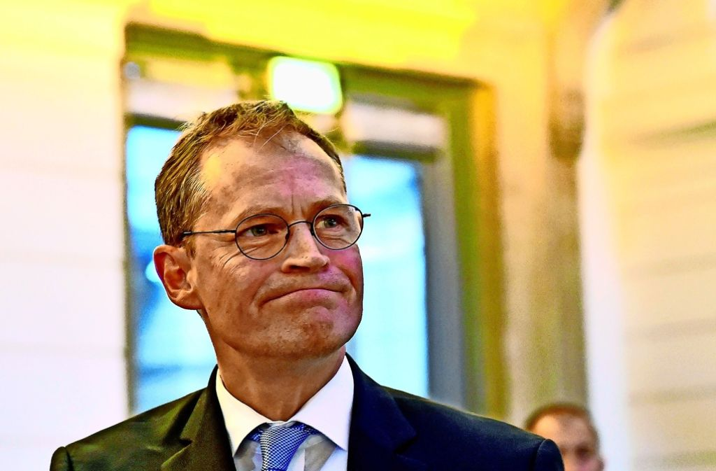 Michael Müller (SPD) sieht sich als  Regierender Bürgermeister bestätigt. Foto: dpa