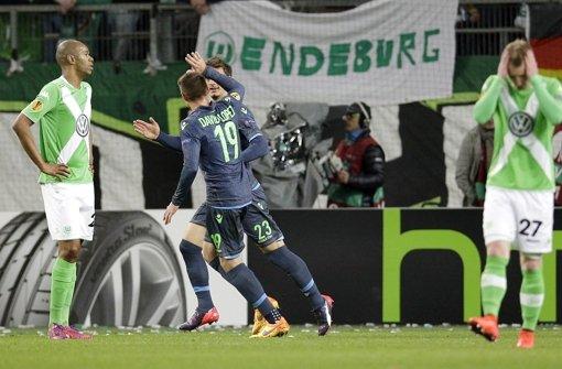 Wolfsburg nach 1:4 gegen Neapel vor Aus