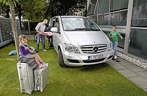 """Mercedes-Benz sucht die """"Viano Family of the Year 2013"""""""