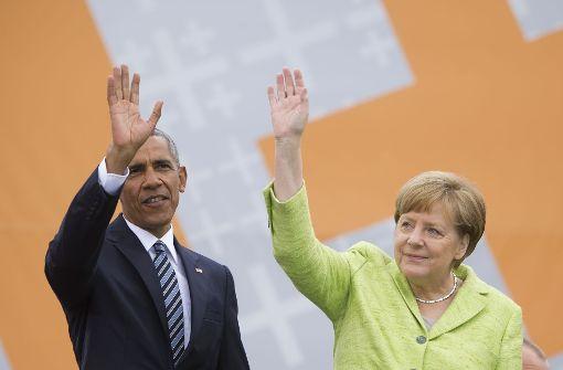 Obama, Merkel und das Gottvertrauen