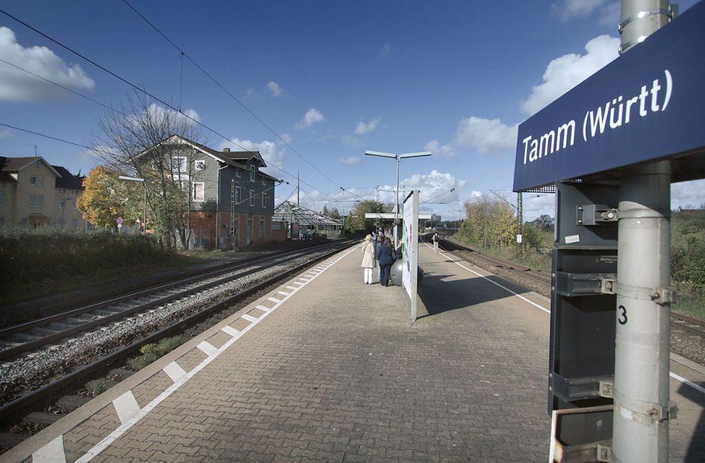 In Tamm stieg der 24-Jährige aus der Bahn, wurde aber kurz darauf von der Polizei gefasst. Foto: