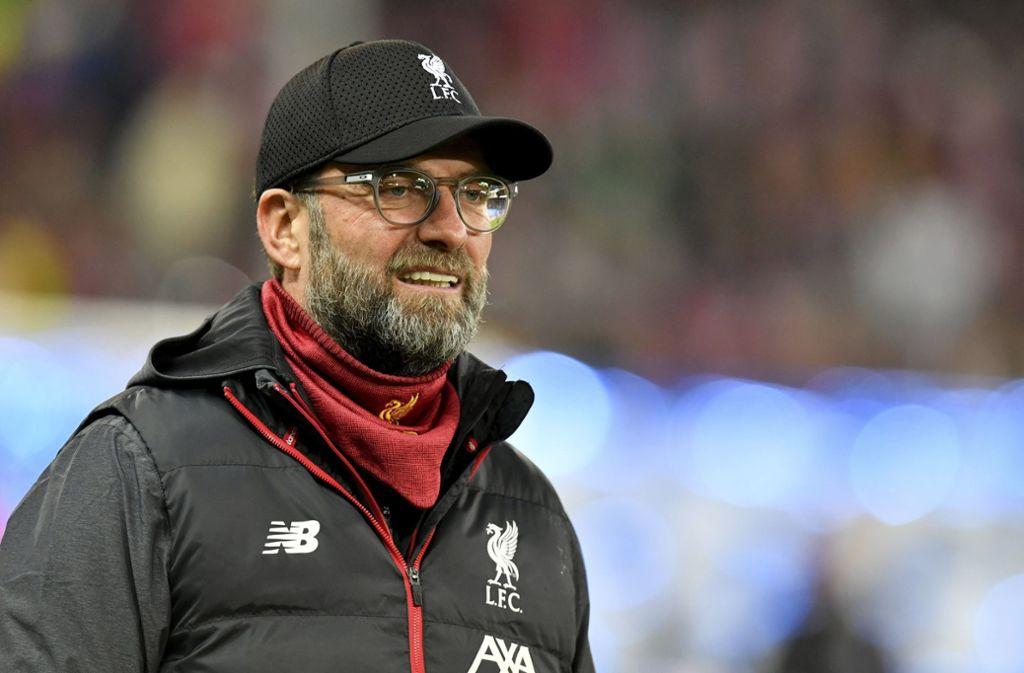 Jürgen Klopp hat mit dem FC Liverpool das Achtelfinale der Champions League erreicht. Foto: AP/Kerstin Joensson