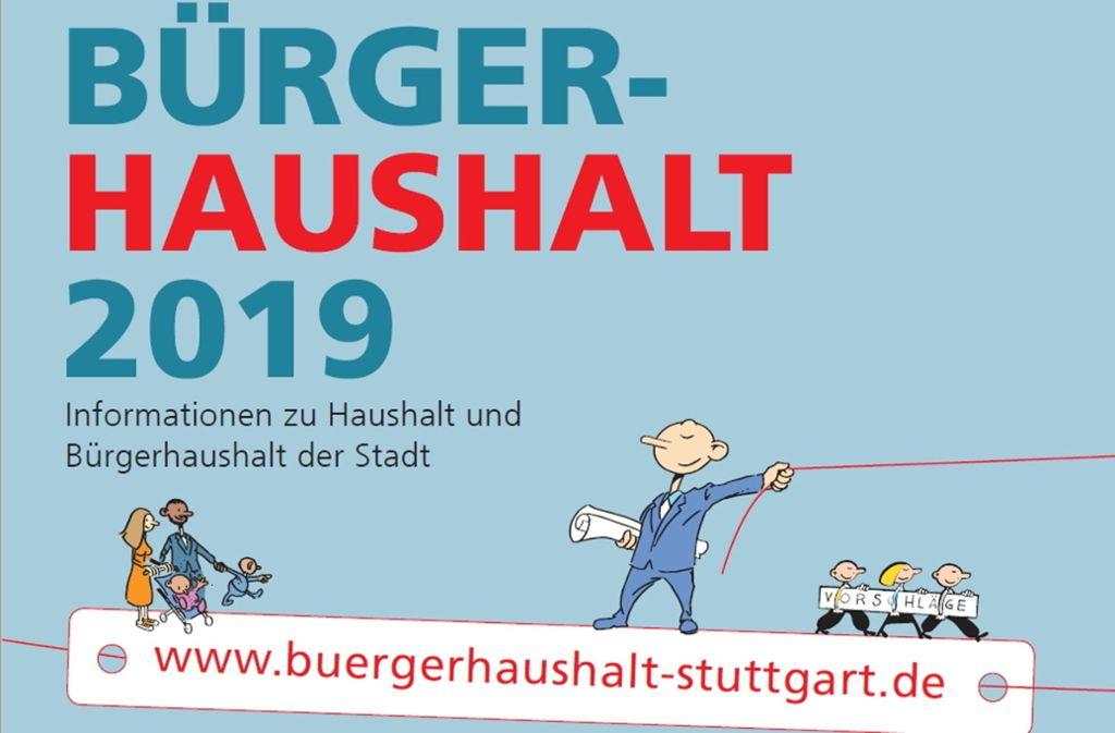 Beim  Bürgerhaushalt sind die Stuttgart zum Mitmachen aufgerufen. Foto: Stadt Stuttgart