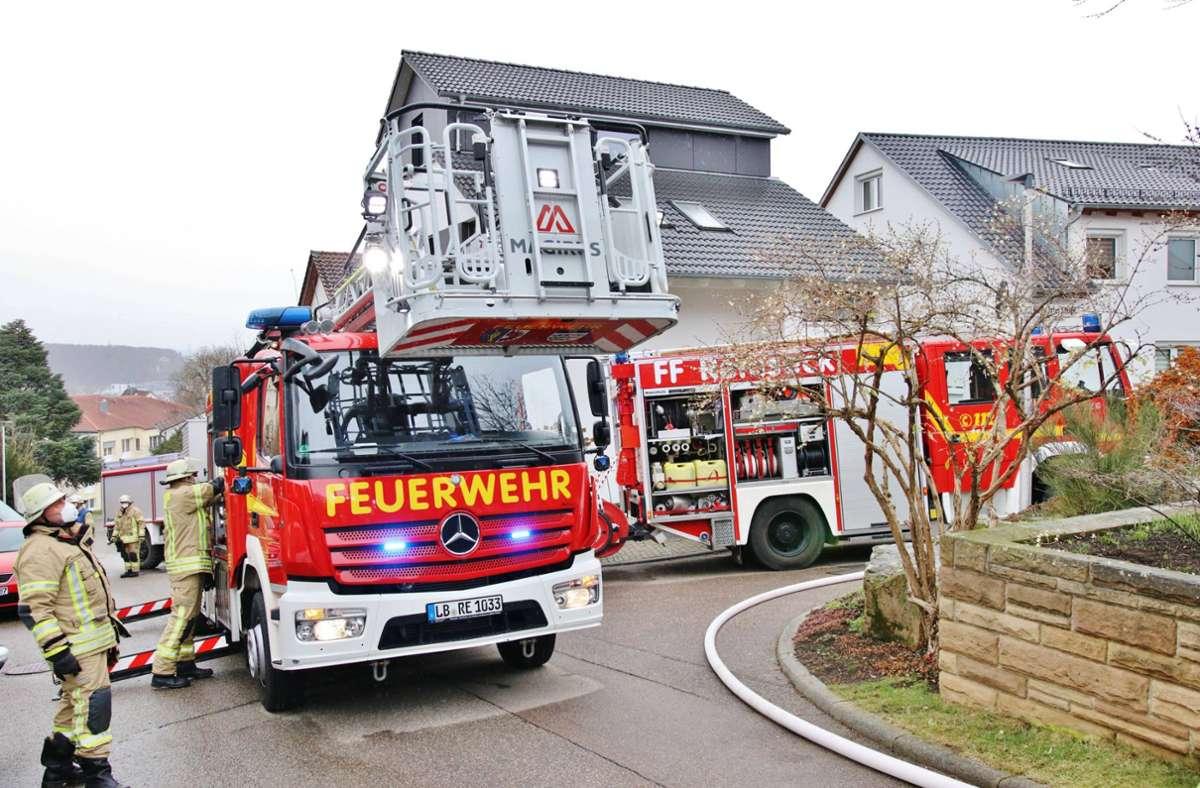 Der Küchenbrand ereignete sich in Remseck am Neckar. Foto: 7aktuell.de/Kevin Lermer