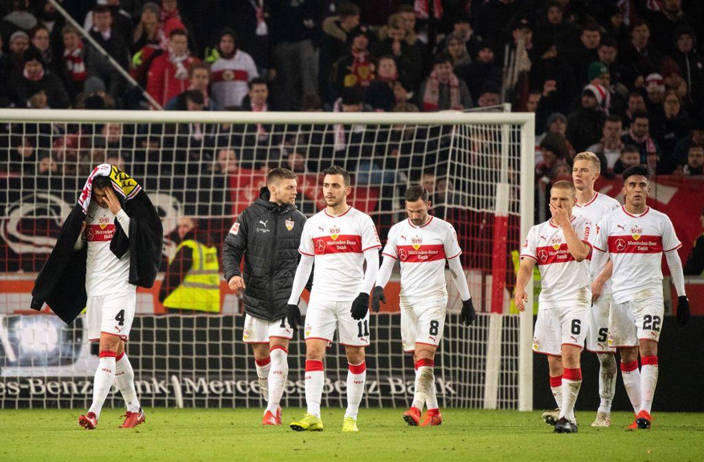 Die VfB-Spieler wurden für den Auftritt gegen den 1. FSV Mainz 05 mit entsprechenden Noten von Lesern und Redaktion bedacht. Foto: dpa
