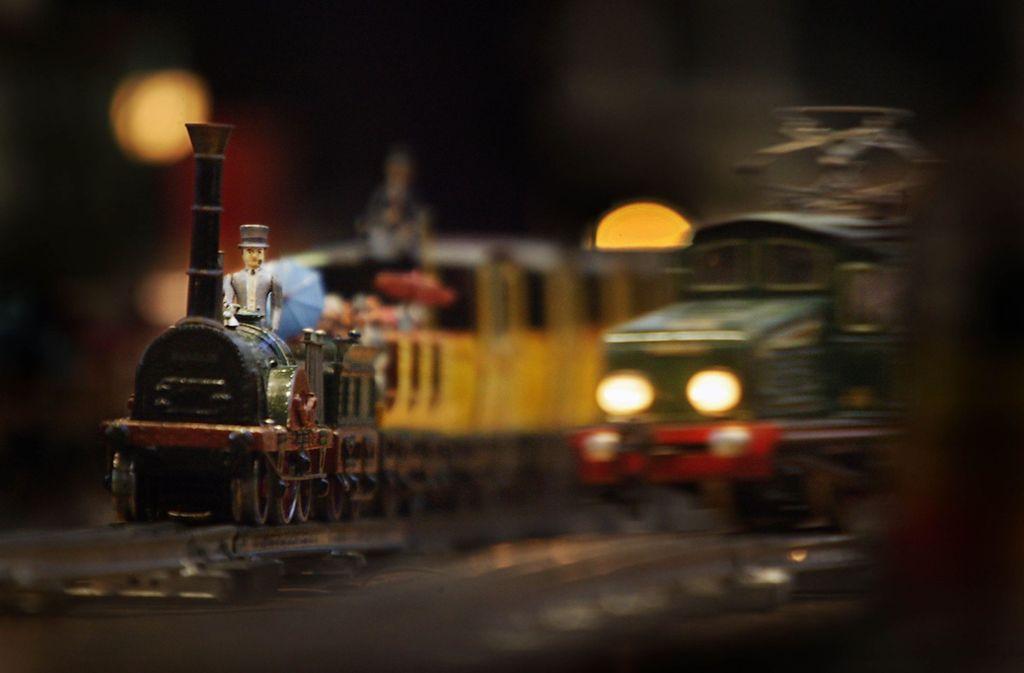 Im Museum Hirsch in Buoch sind auch Modelleisenbahnen verschiedener Hersteller zu sehen. Foto: Stoppel/Archiv