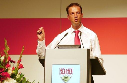 Die Mitgliederversammlung des VfB Stuttgart in Bildern. Foto: Pressefoto Baumann