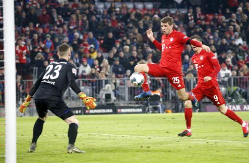 FC Bayern rückt bis auf einen Punkt an Leipzig ran