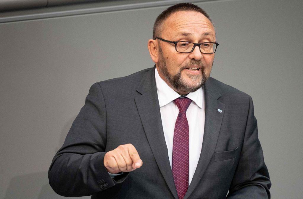 Der AfD-Abgeordnete Frank Magnitz ist zusammengeschlagen worden. Foto: dpa
