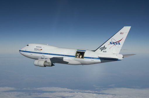 Forschungsflugzeug landet mit Verspätung