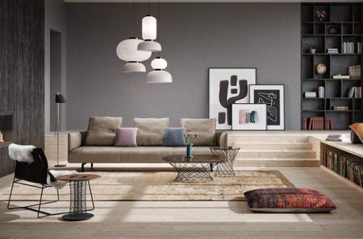 """Möbel von Walter Knoll, wie das Sofa """"Muud"""", werden weltweit für ihr modernes Design und ihre handwerkliche Perfektion geschätzt."""