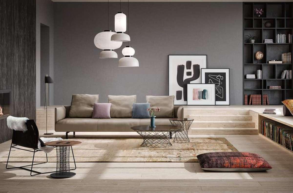 """Möbel von Walter Knoll, wie das Sofa """"Muud"""", werden weltweit für ihr modernes Design und ihre handwerkliche Perfektion geschätzt. Foto: Walter Knoll"""