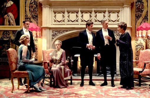 Der König kommt nach Downton Abbey
