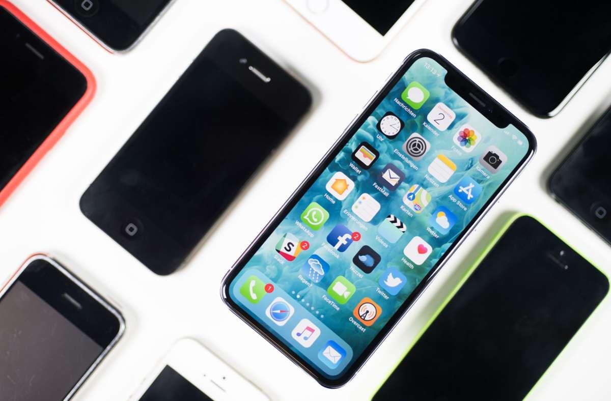 Im September will Apple sein neues iPhone vorstellen. (Symbolbild) Foto: dpa/Lino Mirgeler
