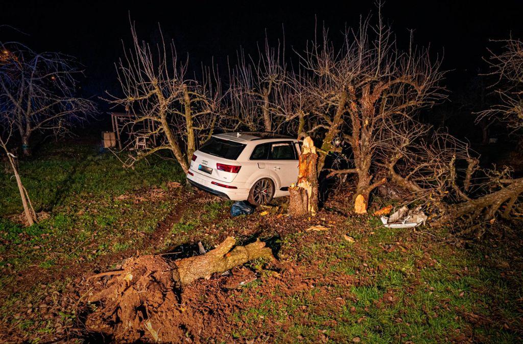 Bei dem Unfall wurden drei Menschen verletzt. Foto: 7aktuell.de/Alexander Hald