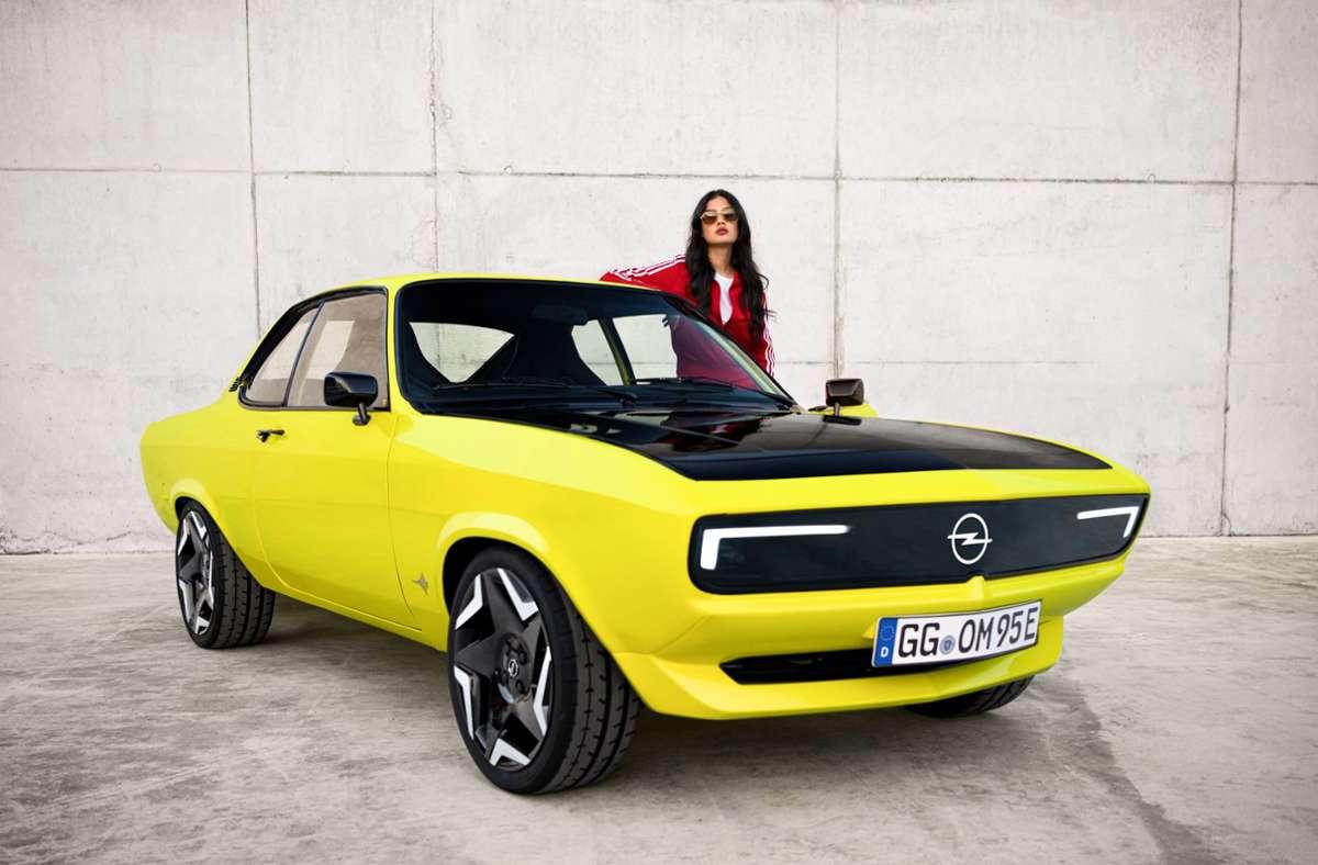 Für den Manta Gse ElektroMOD hat Opel viel positives Feedback bekommen. Foto: Opel