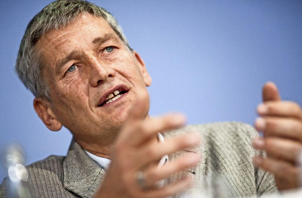 Wolfram König, Präsident des Bundesamtes für Strahlenschutz Foto: dpa