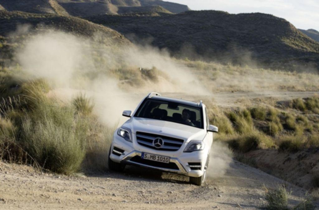 Mercedes hat den Geländewagen GLK  im vorigen Jahr modernisiert. Foto: Daimler