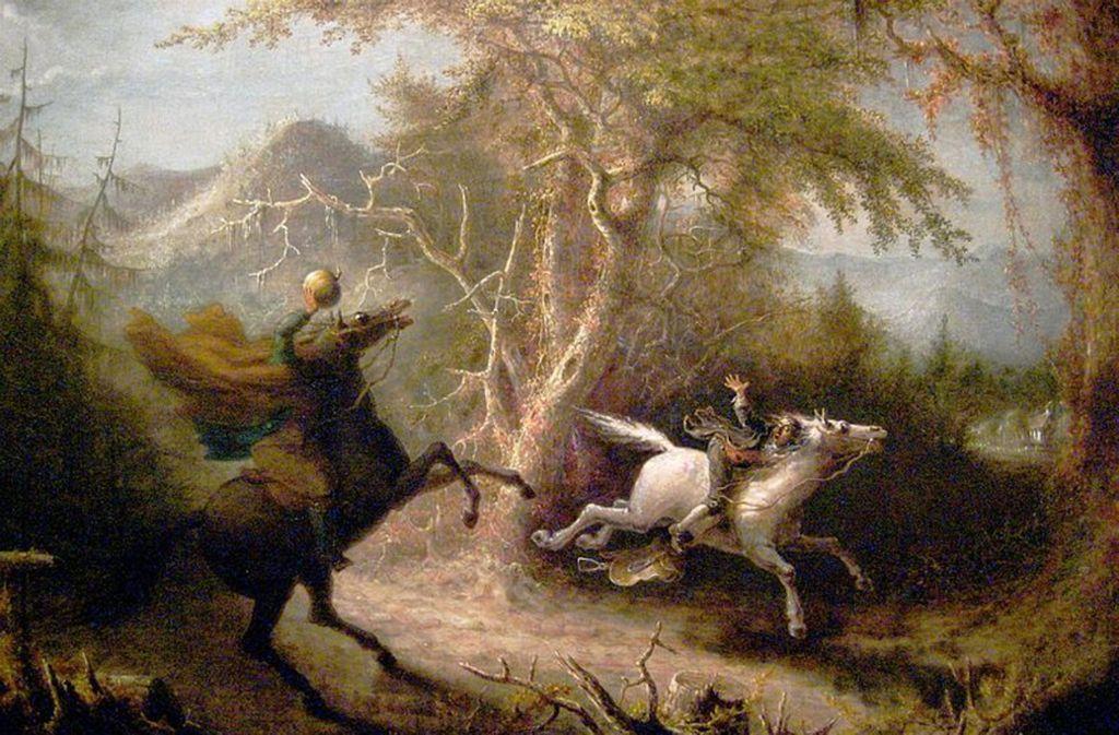 Kopflose Reiter gibts nicht nur in Sleepy Hollow oder wie hier auf dem Bild von John Quidor, sondern auch im Landkreis Ludwigsburg. Gruselige Geschichten finden Sie in unserer Bildergalerie. Foto: Verleih
