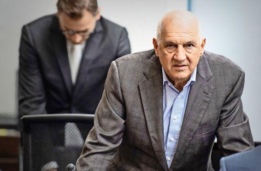 Willi Balz und seine fünfstündige Verteidigung