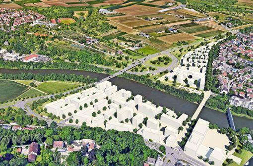 Stadt einigt sich auf Bau einer neuen Neckarbrücke