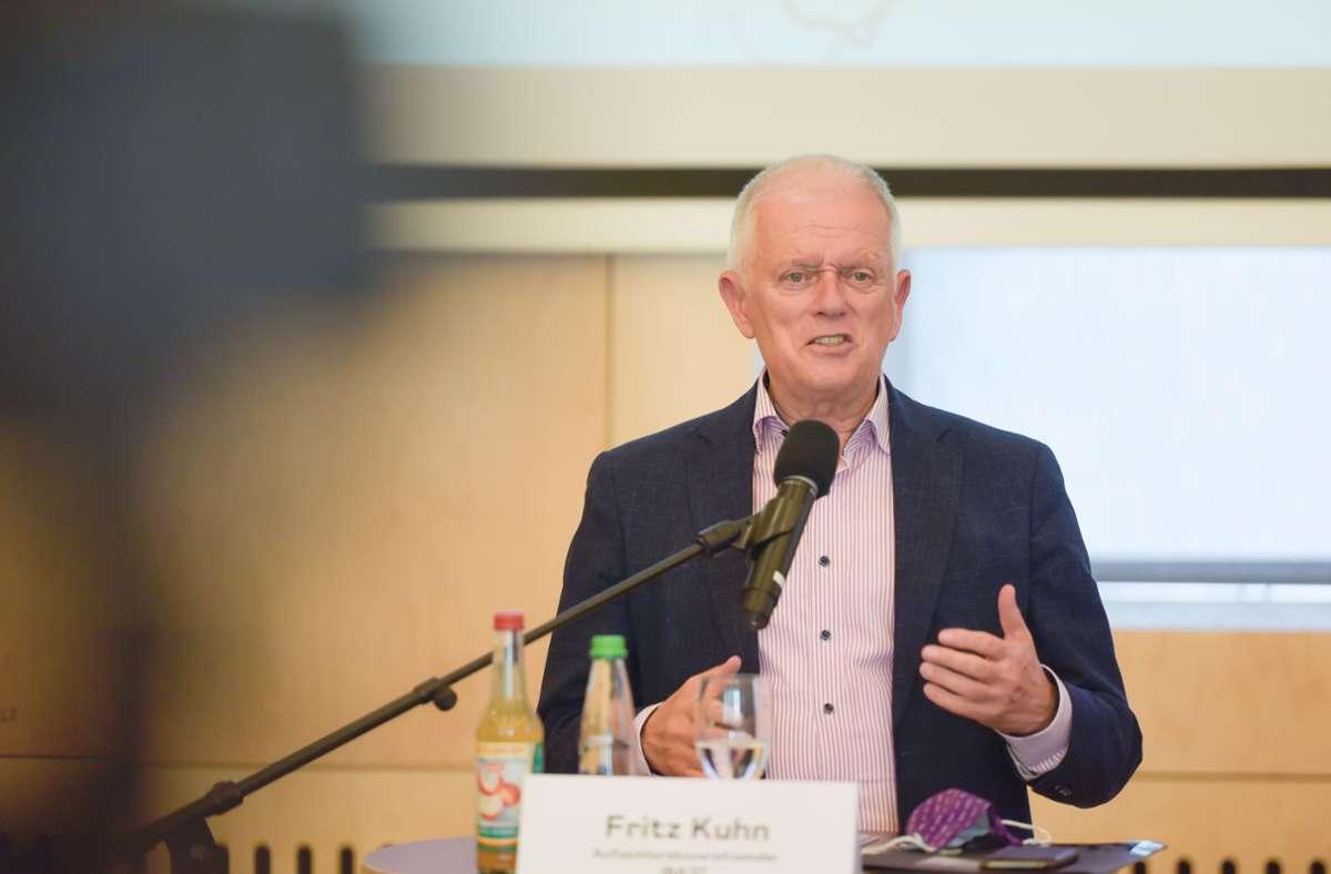 Kuhn hatte eine Handreichung beschlossen, um in der Sprache im Stuttgarter Rathaus künftig stärker die Geschlechtsidentität zu berücksichtigen Foto: Lichtgut/Max Kovalenko