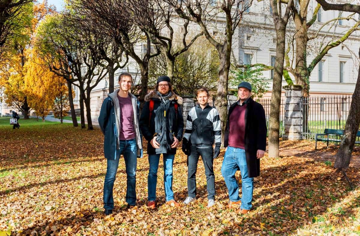 Das Gründerteam von Phelas:(von links) Leon Haupt, Pit Sippel, Justin Scholz und Christopher Knoch Foto: Phelas