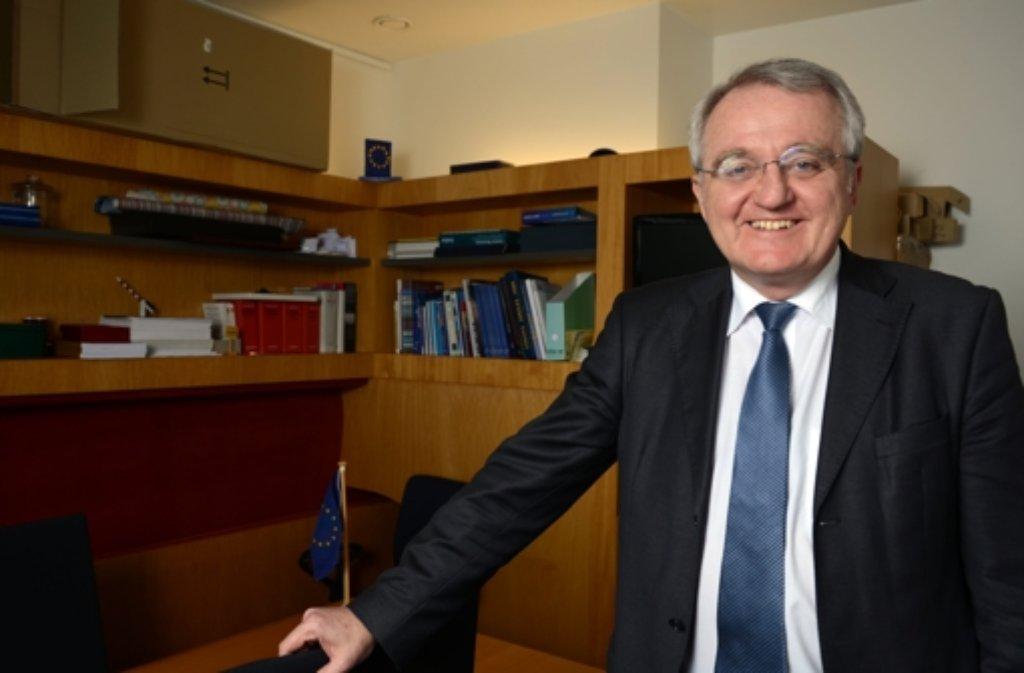 Rainer Wieland (CDU) Der 57-Jährige sitzt bereits seit 1997 für die Konservativen im Europäischen Parlament. Seit 2009 ist er Vizepräsident des Parlaments. Wieland ist Stuttgarter und studierte Jura in Tübingen, Heidelberg und Stuttgart. Foto: dpa