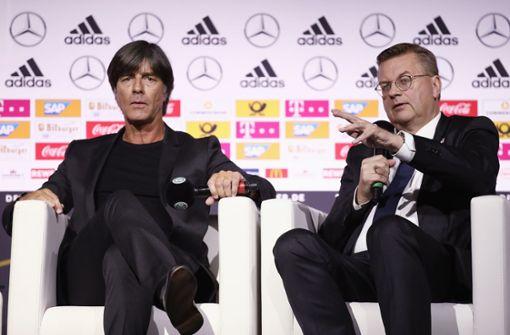 DFB-Chef Grindel fordert moderaten Umgang