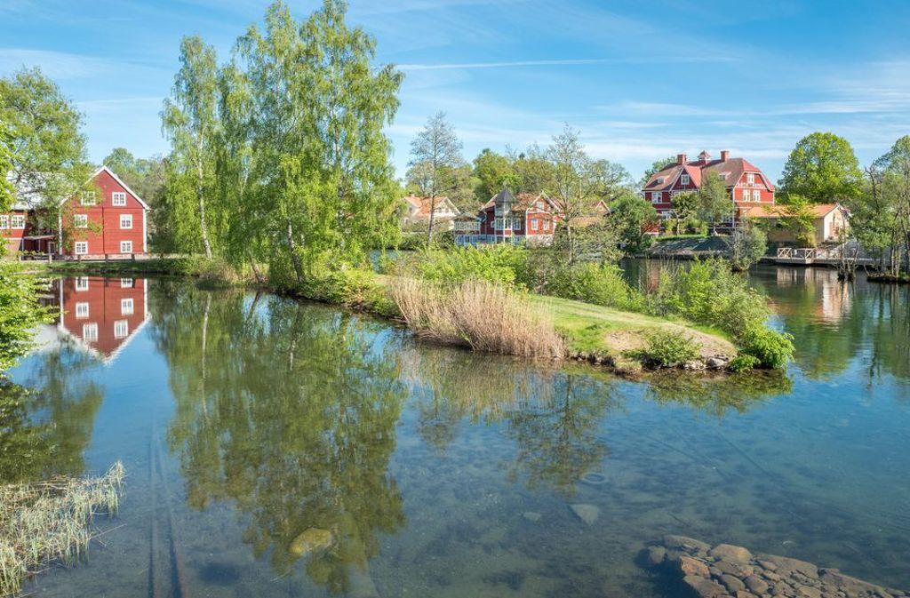 Wer denkt, in Schweden ist es das ganze Jahr kalt, der täuscht sich. So sonnig ist der Sommer in Schweden.  Foto: shutterstock/Rolf 52