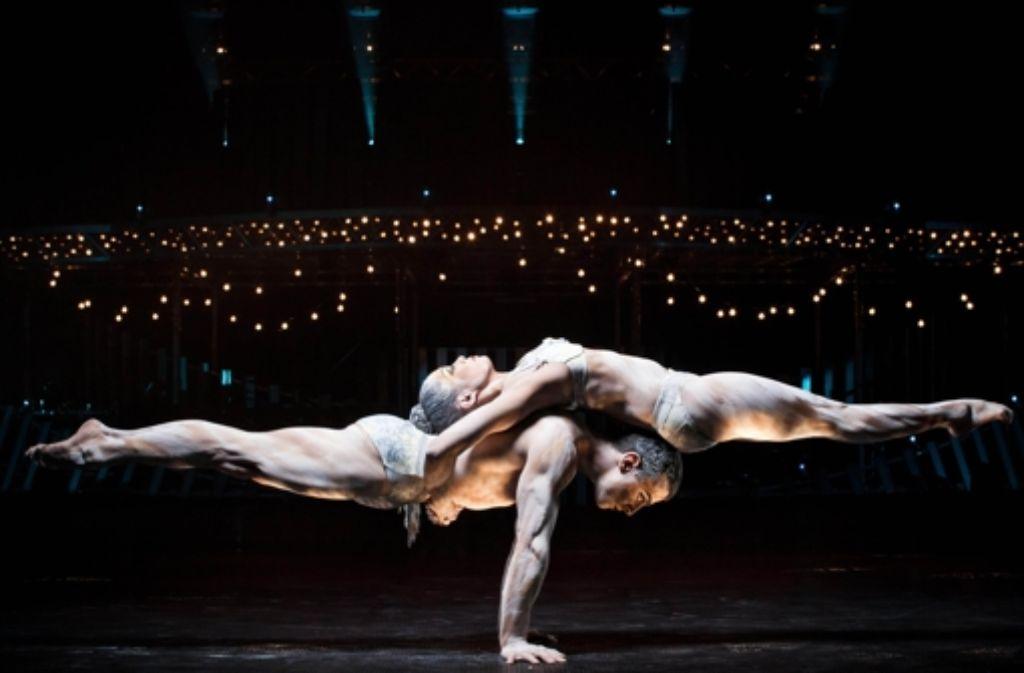 Akrobatik ist Trumpf – hier bei einem älteren Programm der Truppe Foto: dpa