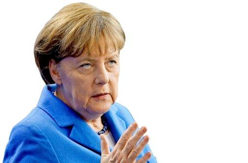 Angela Merkel erlebt die Schrumpfkur der CDU