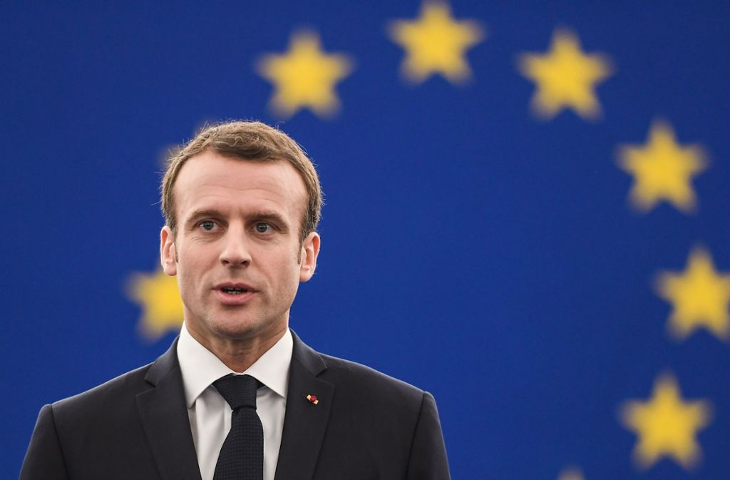 Frankreichs Präsident Emmanuel Macron Foto: AFP