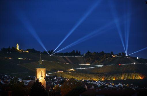 Der Weinberg leuchtet  virtuell