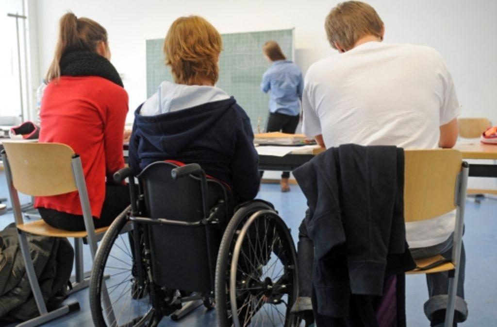 Kinder mit und ohne Behinderung sollen am Elly-Heuss-Knapp-Gymnasium künftig gemeinsam unterrichtet werden. Foto: dpa