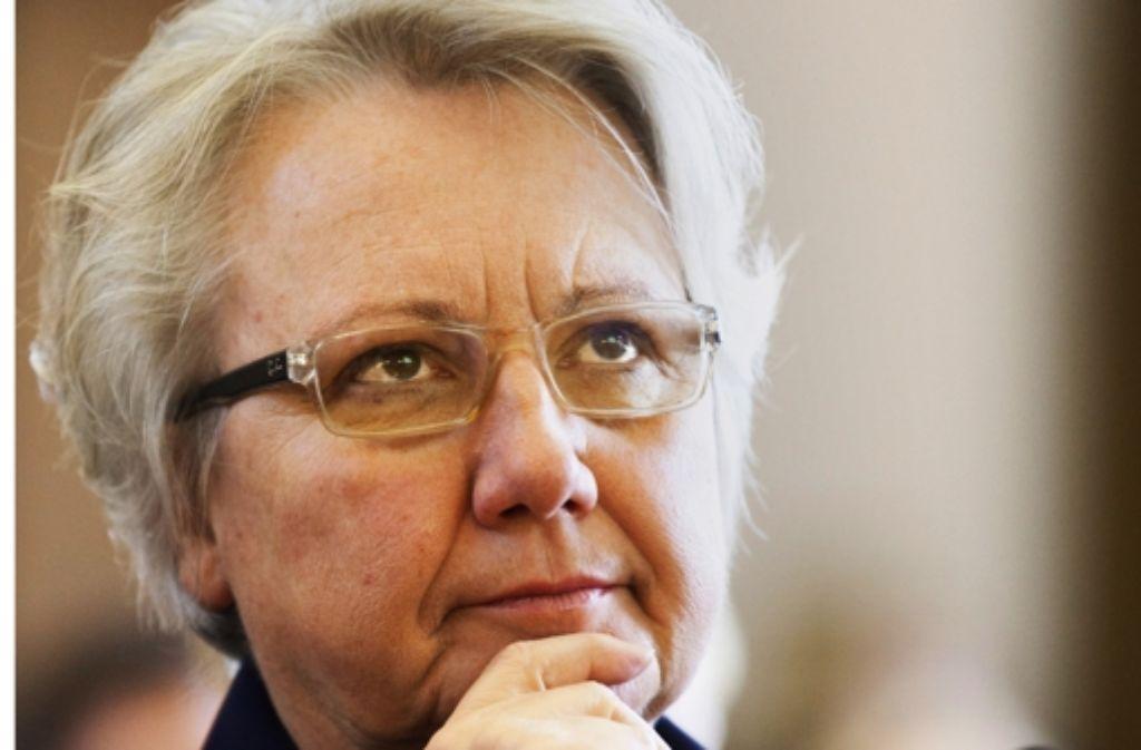 Annette Schavan wird bald  Botschafterin beim Papst. Foto: dpa